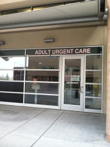 Adult urgent care entrance