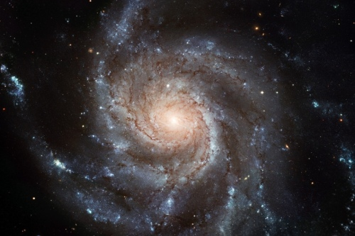 Image of a spiral galaxy